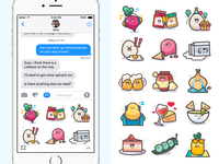 Flipp iMessage Stickers