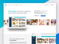 Flipp.com Landing Page
