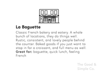 La Baguette Illustration