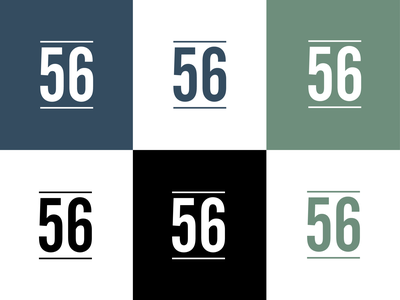 56 Capital Mark finance financial lines strong minimal brand assets brand and identity brand mark mark brand agency branding logo brand