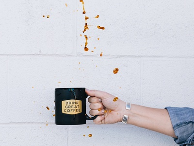Hold Fast Mug brand and identity brand agency coffee mug coffee logo coffee company coffee rebrand logo design branding designer branding design brand branding