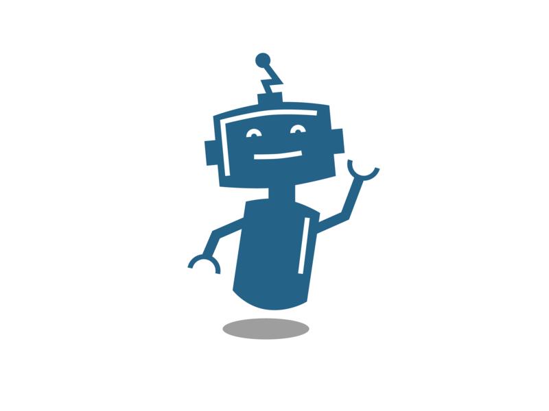 Robot Mascot - Springs IT branding agency illustration tech logo design brand identity brand identity design brand and identity tech logo robot mascot minimal branding minimal logo