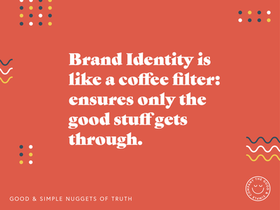 Nuggets of Truth! v.2 quote brand aid illustration art branding design brand identity brand and identity branding brand design brand