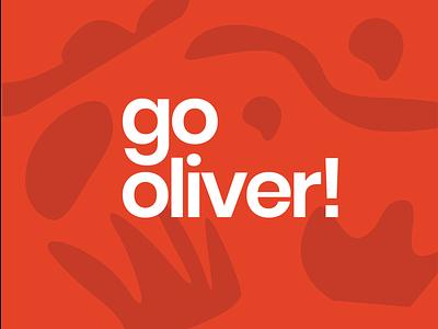 Go Oliver! Rejected Concept symbols strong simple entrepreneur youth logo design brand design brand logo