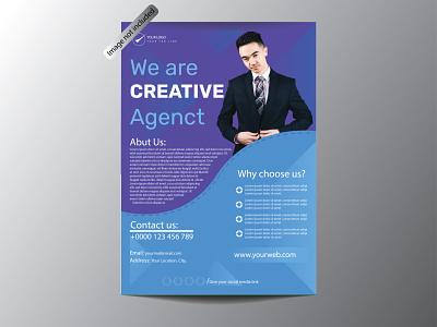 Business Flyer flyer typography design illustration vector