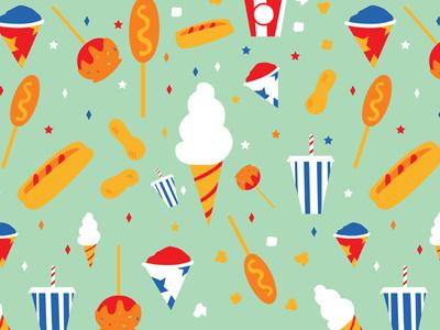 Circus Food popcorn carnival peanuts soda cotton candy corn dog hot dog snow cone treats sweets food circus
