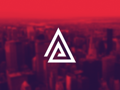 The Advisory Partnership logo design branding identity stationary monogram symbol triangle