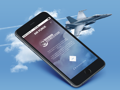 Fighterpilot layout ux game responsive mobile interactive app website