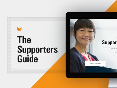 The Supporters Guide influencers military technology responsive website design