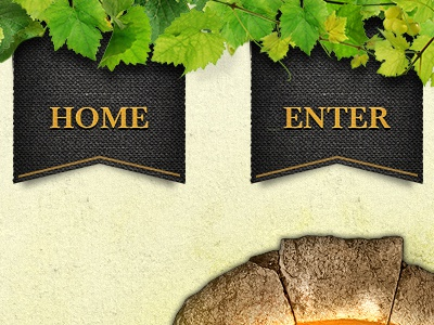 Brown Brothers Menu navigation menu ribbon wine