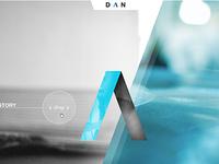 DAN agency site concept