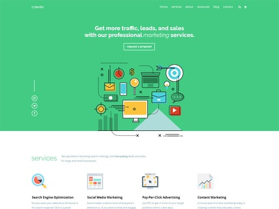 SEO & Marketing ux ui marketing.onepage seo
