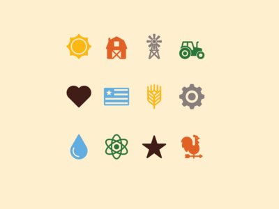 Ag Icons