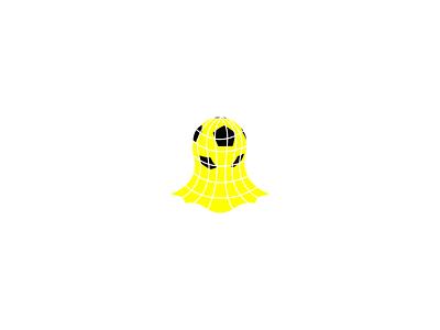 Snap Stats goal net ball design graphicdesign mark identity branding logo soccer stats snapchat