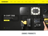 Cognex Website Concept