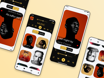 Music notifications100 musicappux musicappui musicapp musicplayer music uiux ux ui appdesing app landingpage android ios vector illustration adobe illustrator figma