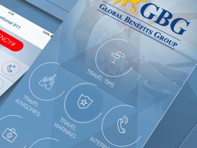 GBG Hospital IOS & ANDROID UI -Ux Design design -ux ui android ios hospital gbg