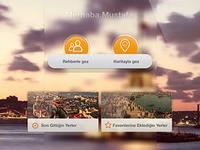 city tour ipad design