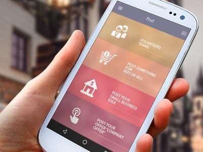 Pazar4Arap UI-Ux Design | Android and IOS ios design app ios design mockup ux design ui design