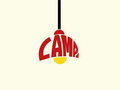 LAMP. type graphic design art logo flat minimal typography vector branding design
