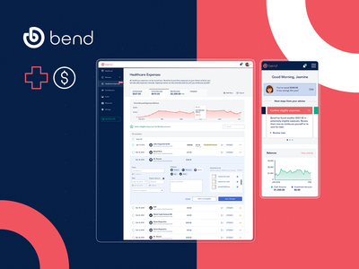 BendHSA experience design agile development business strategy healthcare vue.js typescript healthtech fintech website app logo design mobile web ux