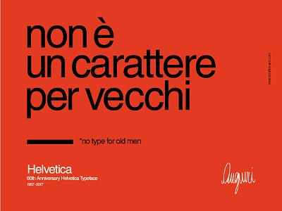 60th Anniversary Helvetica Typeface typeface anniversary helvetica