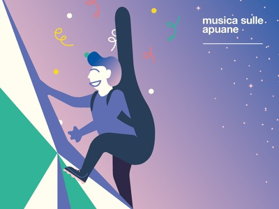 Musica sulle Apuane -  The Climber Musician open air classic classic music opera free italy music festival musician climber