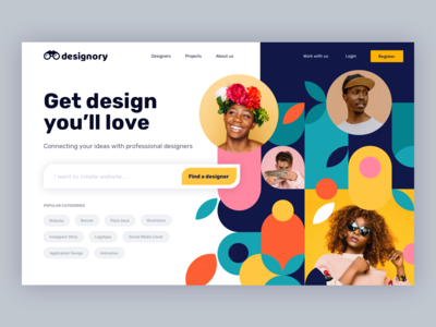 Designory - Designers Directory website