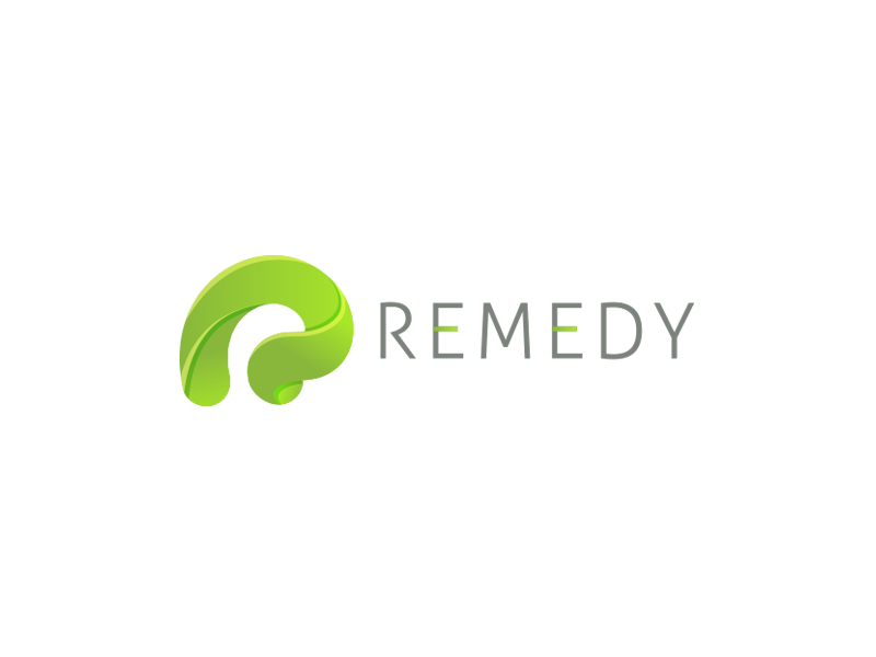 Remedy gradiant logo green care health remedy