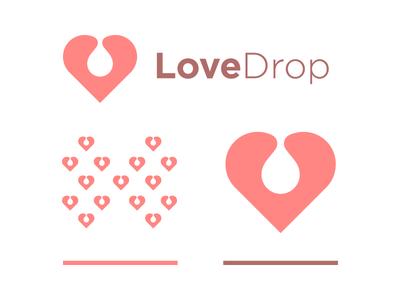 Love Drop nice cute like heart pink drop love
