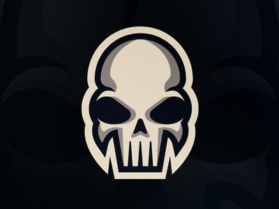 Skull eSports logo tutorial team sports mascot logo esports skull