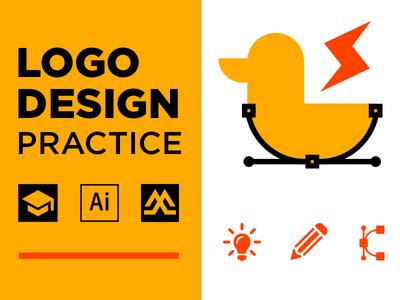Logo Design Practice tutorial practice ideas process design logo