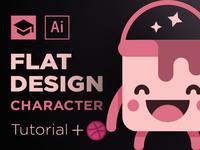 Flat Design Character