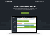 ProjectPuzzle Landing Page