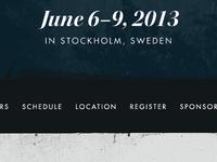 June 6–9, 2013