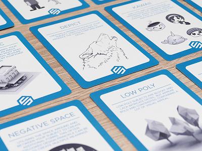 Stormdeck kickstarter inspiration graphic design cards stormdeck
