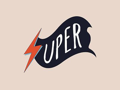 SUPER Branding superhero super branding logo