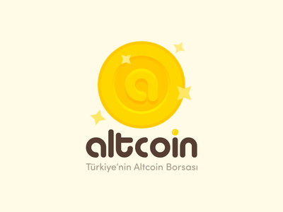 Altcoin Logo icon gold coin altcoin bitcoin