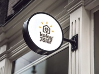 Kolay Solar - Outdoor Sign Board