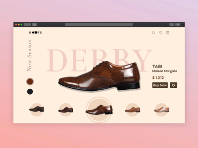Shoe Shop Web Design uidesign shoes figma uiux ecommerce ui