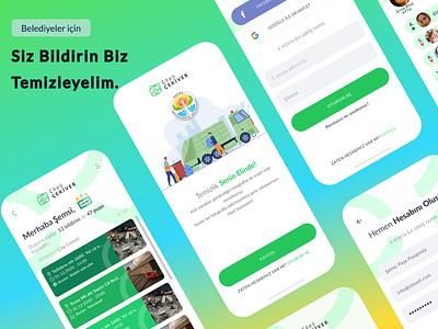 ÇöpüÇekiver cleaning clean minimal figma design figma design app