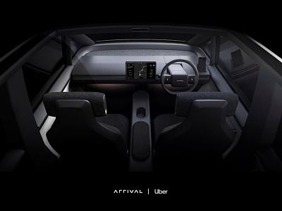 Arrival EV Dashboard - Uber design ioannis nousis nousis ioannis arrival ui electric car car electric vehicle ev dashboard ui uber