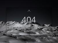 Unsplash Redesign - 404 Page