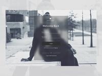 Unsplash Redesign - Login Page