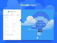 Google Flights - Concept
