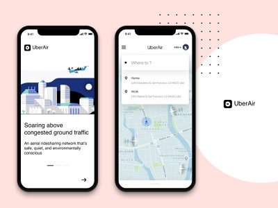 UberAir - WIP 2 mobile app design mobile app mobile plane ioannis john noussis iphone x uber app concept travel air
