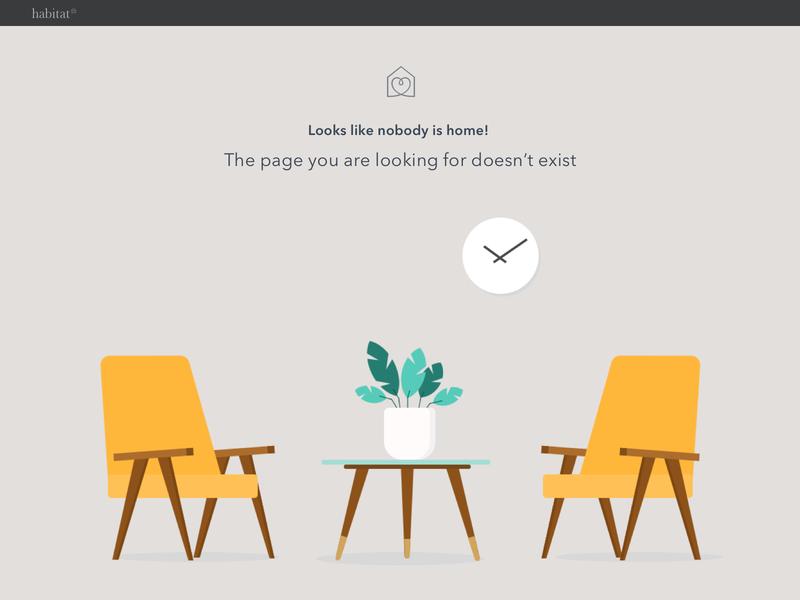 Empty state illustration - Freebie sketch sketchapp freebie 404 error 404 page ecommerce design ecommerce chair ui design illustraion empty state error state