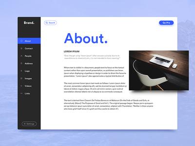 Press kit Design exploration exploration kit press web ux ui material design debut concept app