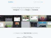 Dribbbler - Free portfolio theme