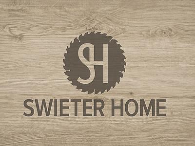 Swieter Home logo saw illustration branding
